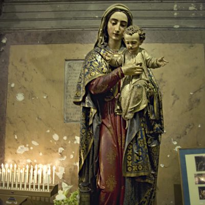 Mary and Child. Rome Church