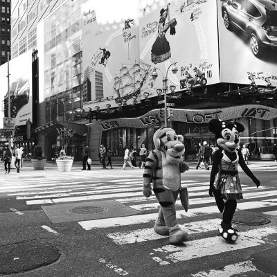 Times Square New York City.