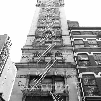 Fire Escape stairs New York City